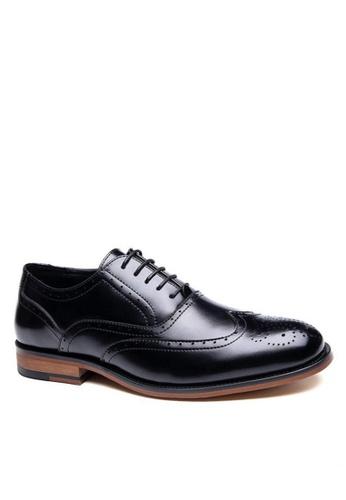 Twenty Eight Shoes black Bourbon Leather Classic Oxford 7528P 4B91ESHBC436EDGS_1