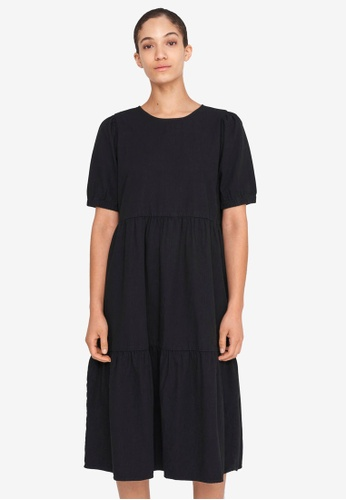 Noisy May black Sessi Ankle Dress EBAAAAA96FDBA4GS_1