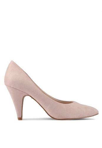 VINCCI pink Pump Heels 30B5CSH498B21BGS_1