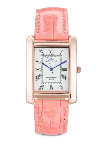 羅馬數字esprit門市地址仿皮方錶, 錶類, 飾品配件