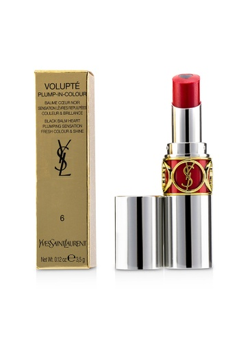 Yves Saint Laurent YVES SAINT LAURENT - Volupt Plump In Colour Lip Balm - # 06 Lunatic Red (Blue Red) 3.5g/0.12oz 9BBA6BE5491AC0GS_1