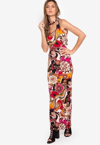 Purple Shore red Lucianna Dress PU831AA32MOTPH_1