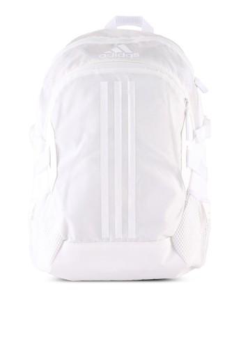 ADIDAS white aeroready power v backpack 36D59AC818BDF5GS_1