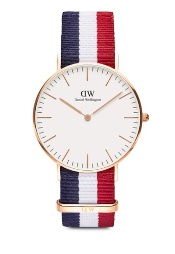 Daniel Wellington multi and gold Classic Cambridge 36mm Rose Gold Watch DF381ACF143149GS_1
