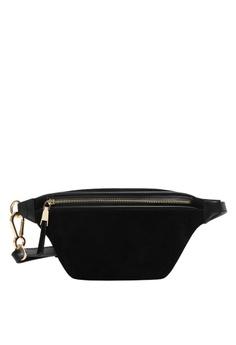 be15d1edb6ee9e Mango black Leather Bum Bag 45419ACE40F58DGS_1