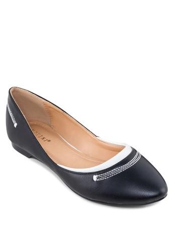 撞色平底鞋, 女鞋, 芭esprit香港門市蕾平底鞋