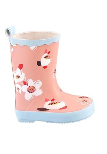 Twenty Eight Shoes 粉紅色 VANSA 時尚中筒雨靴 VSK-R002 BD903KSFA0AC7EGS_1