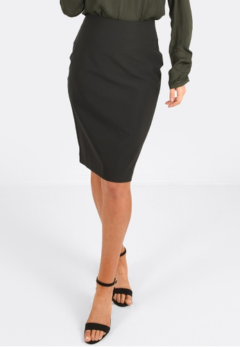 FORCAST black Marlee Pencil Skirt 63A40AA4A6CD9DGS_1