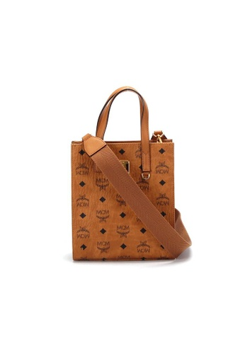 MCM brown Pre-Loved mcm MCM Classic Tote Bag-Vicetos in Brown FFD88AC961B708GS_1