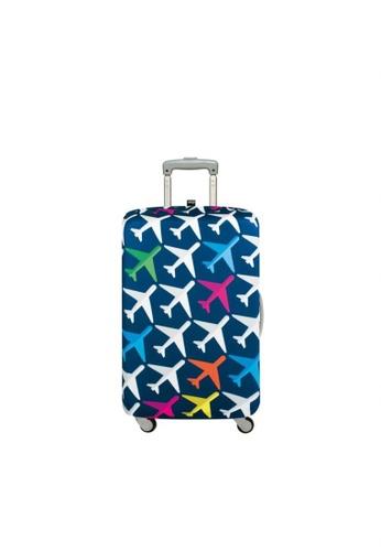 519cc5a490a6 Loqi Airport Medium Luggage Cover - Airplane (22
