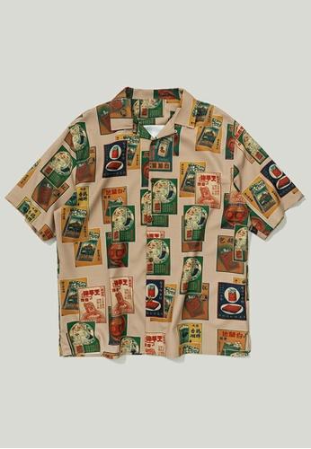 Twenty Eight Shoes Loose Printed Short Shirt 9216S 6F478AAB7FF7B7GS_1