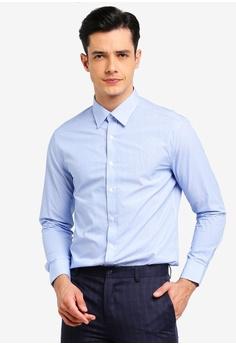 e2412df7b5d985 G2000 blue Mixed Print Long Sleeve Shirt CDFCBAAF93B2E0GS 1