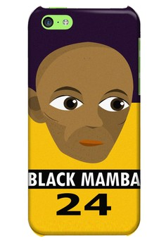 Black Mamba Hard Case for iPhone 5c