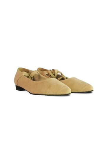 HERAPOSH beige The Vera Lace Up Shoes 6D80ESHC53260CGS_1