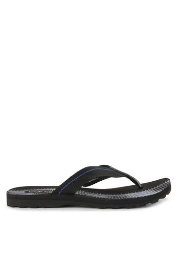 CARVIL black and multi Sandal Sponge Man Furo 040A4SH33B81B4GS_1