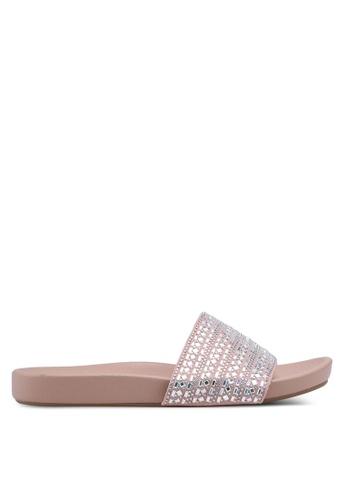 Dorothy Perkins pink Nude Faithful Sliders EEF76SHE21ADE8GS_1