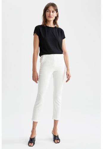 DeFacto 黑色 Regular Fit Short Sleeve T-Shirt 816A1AA8E24EF0GS_1