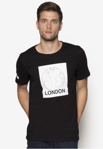 London 地球圖案設計Tee, esprit hk服飾, 服飾