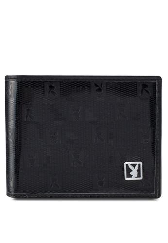 Playboy black Playboy Rfid Blocking Wallet 0356EAC974B6DAGS_1