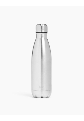 MARKS & SPENCER silver M&S Stainless Steel Water Bottle 500ml 1282DHLA78F9A2GS_1