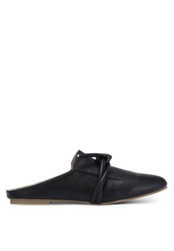 ZALORA black PU Slippers 3D785ZZF45E703GS_1