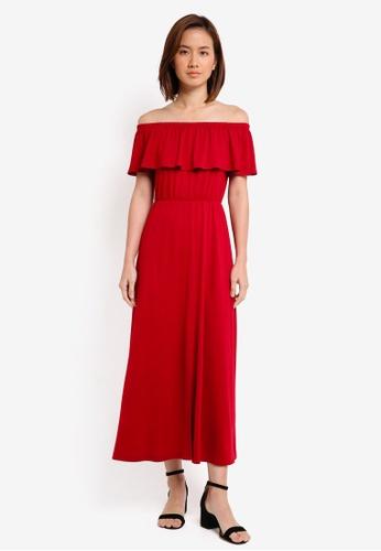 3493e48db892 Buy ZALORA Off Shoulder Maxi Dress Online on ZALORA Singapore