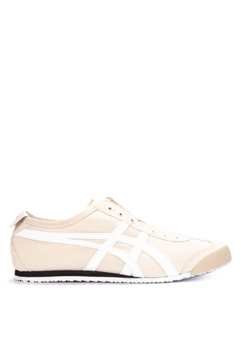 Onitsuka Tiger beige Mexico 66 Slip-On Sneakers 9C499SH05FE6E1GS_1