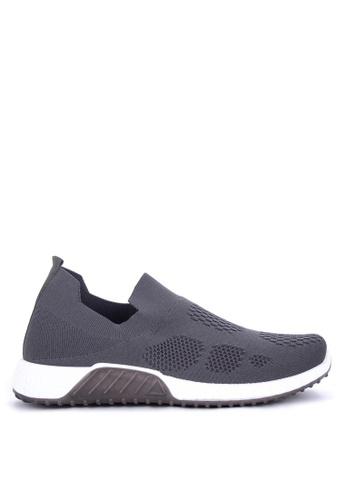 Mendrez grey Jaypee Sneakers 3E433SHAD67EBCGS_1