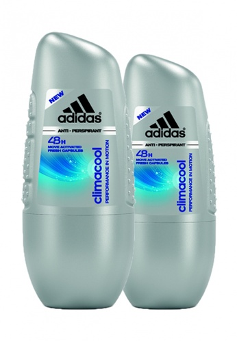 Adidas Fragrances Adidas Climacool 48H Anti-Perspirant Roll-on for Him 40ml x 2 5B4C2BE5401853GS_1