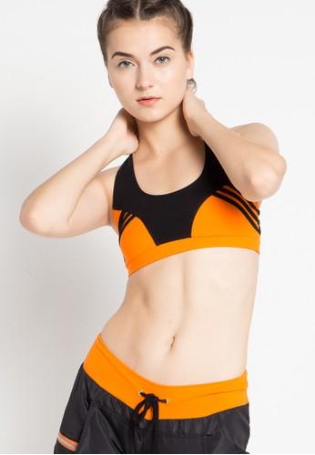 Folatre Sportswear orange Neiva Zumba Crossback Bra in Orange 65C82USA616BBCGS_1