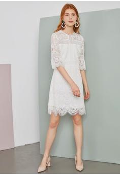 ec0038adacea Hopeshow Lace Design Dress RM 169.00