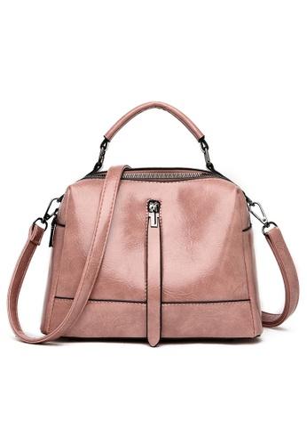 Halo pink Vintage Three Way Crossbody Bag 968EEAC16894FAGS_1