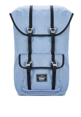Chocollection blue York All Day Backpack CH825AC26GTPHK_1