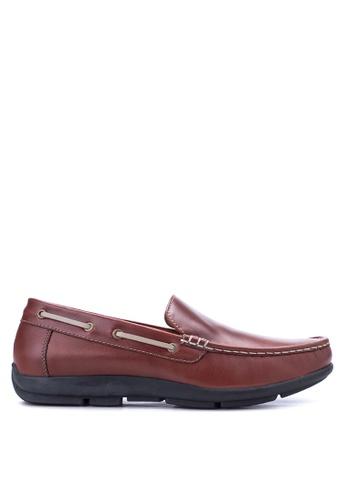 Gibi brown Men's Loafers GI342SH11UWYPH_1