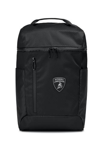 Lamborghini black Automobili Lamborghini® Galleria Black Backpack 72AD4ACC0A56E6GS_1