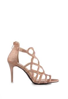 73047e902d31 Alfio Raldo brown Alfio Raldo Sparkly Dust Coated Open Toe Design High Heels  98AC9SHB914300GS 1