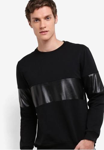 Murzaman black Y & M Sweatshirt MU501AA23NIMMY_1