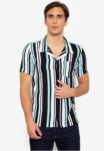 Zeb & Beileag multi King Open Collar Shirt AF76FAA35BA32EGS_1