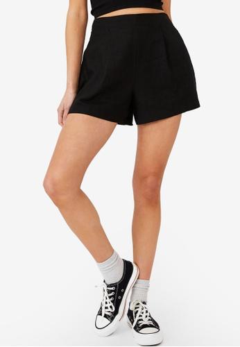 Cotton On black Paradise Shorts ACE8EAACC2F0D3GS_1