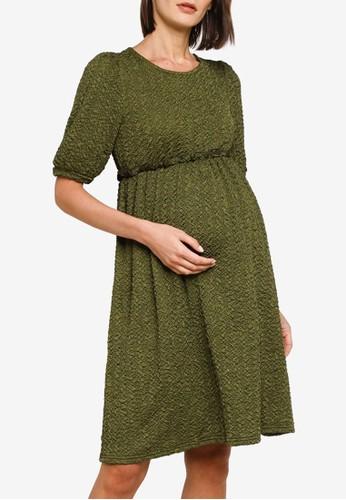 Mama.licious green Maternity California 2/4 Dress 80C12AA5879705GS_1