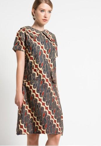 Batik Martha brown Basama Dress BA591AA44MBRID_1