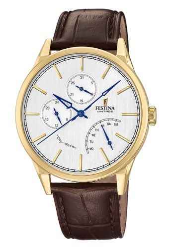 Festina brown Casual Men's Watches FES F20279/1 DBC5AACFC79AF9GS_1