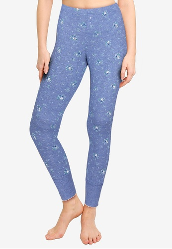 GAP blue Pointelle Leggings 79527AAAEE9675GS_1