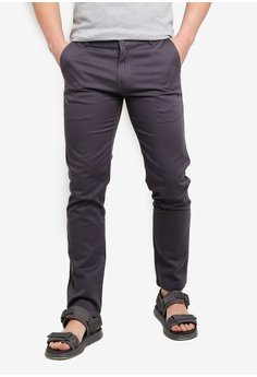 27487351c459 Fidelio grey 430 Slim Fit Chino Pants 3E80AAAE348BC1GS 1