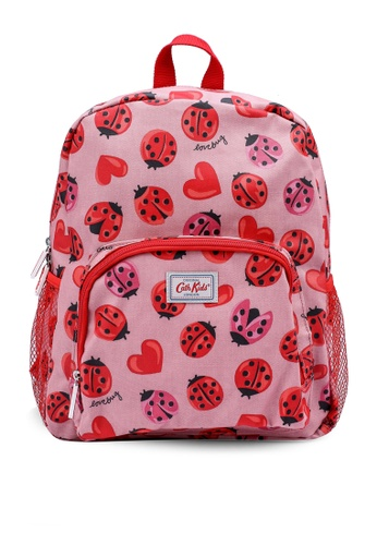 Cath Kidston pink Lovebugs Kids Large Backpack 1E24CKC99A985DGS_1