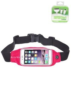 Sports Running Gym Waist Belt Bag with FREE USB Cable
