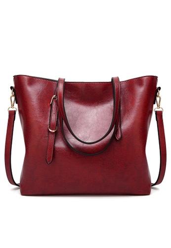 Lara red Women Synthetic Shoulder Bag FFBD9AC12F4AC8GS_1