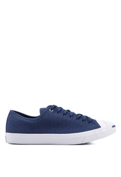 cheap for discount 45402 a4126 Converse navy Jack Purcell Ox Heavy Canvas Sneakers B342DSH771ECAAGS 1