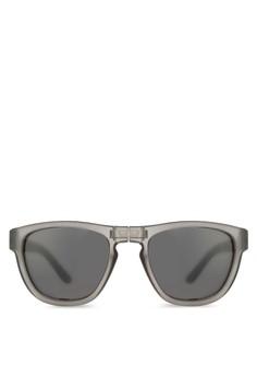 【ZALORA】 折疊式方框太陽眼鏡