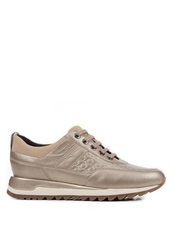 Geox brown Tabelya Sneakers 3F8B6SH4011F74GS_1